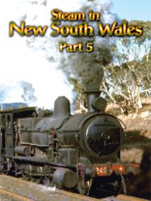 Steam in New South Wales Part 5 includes over a dozen loco types across the State in previously unseen archive footage.